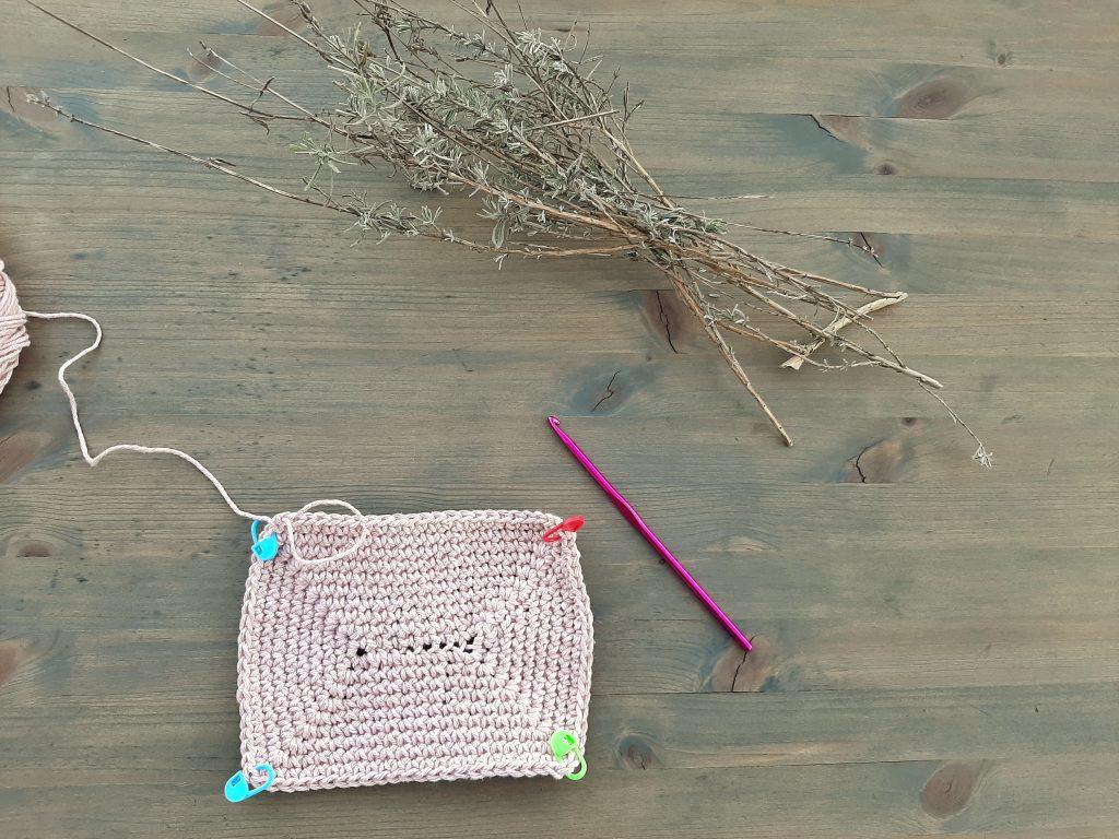 Rectángulo Crochet